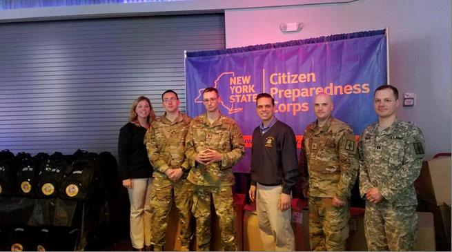 Citizens Preparedness Training at the ViaPort Mall in Rotterdam with the New York National Guard. Great to see more than 250 in attendance tonight! 5/12/17