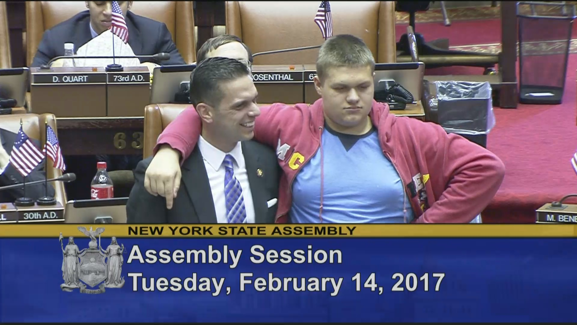 Michael Santabarbara Visits the Assembly