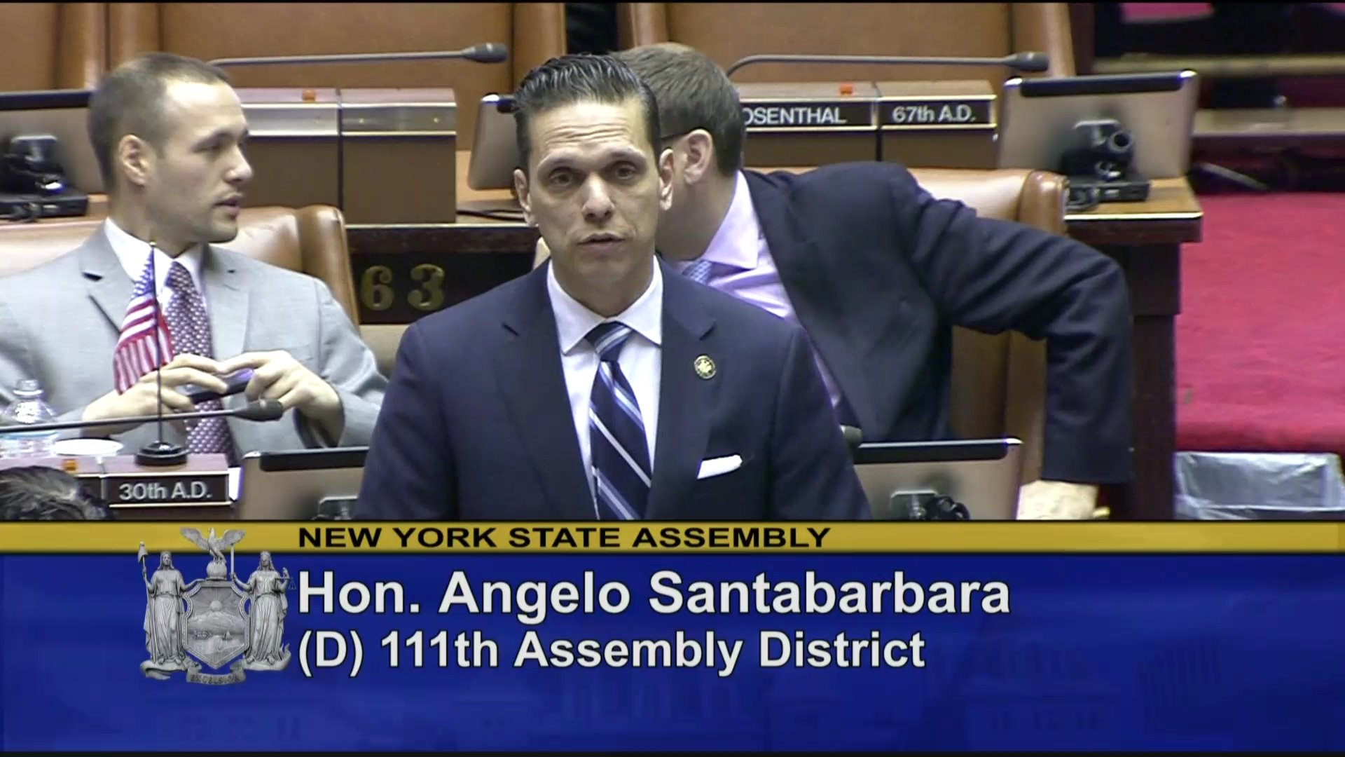 Santabarbara Speaks on Statewide Training Program