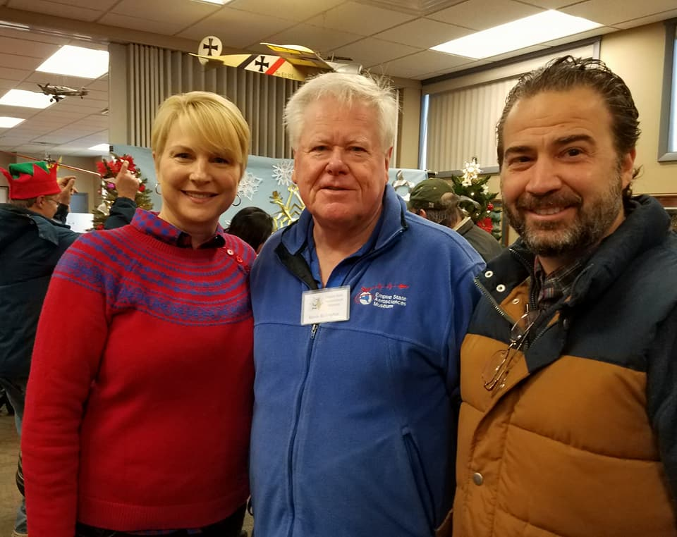 Santa Claus arrived by plane and Glenville Police escort this morning to a large group of excited kids! Supervisor Chris Koetzle and I also got a chance to fly a virtual plane and to catch up with ESAM Board of Trustees V.P. Kevin Millington.<br /><br />&nbsp;