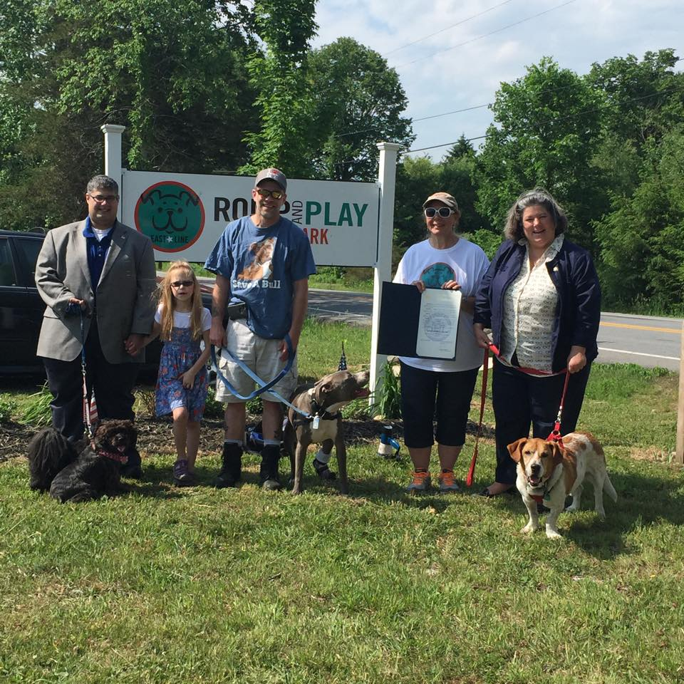 In May 2015, Assemblywoman Woerner attended the opening ceremonies of Malta's Eastline Romp and the Play Dog Park's Dogs' Day Out.