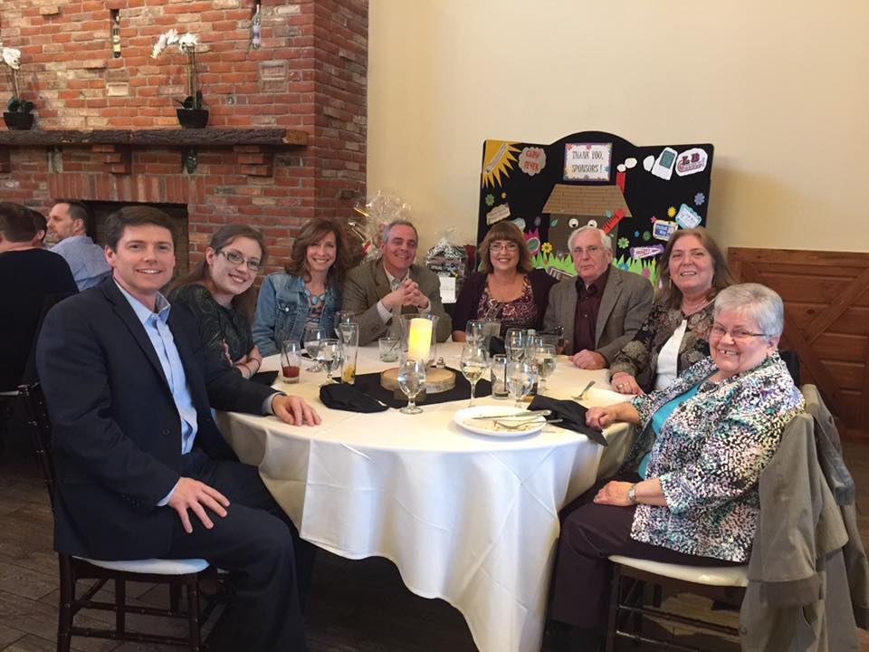 In March 2017, Assemblyman Jones attended the Senior Citizen Council's Cabin Fever event at Butcher Block Plattsburgh.