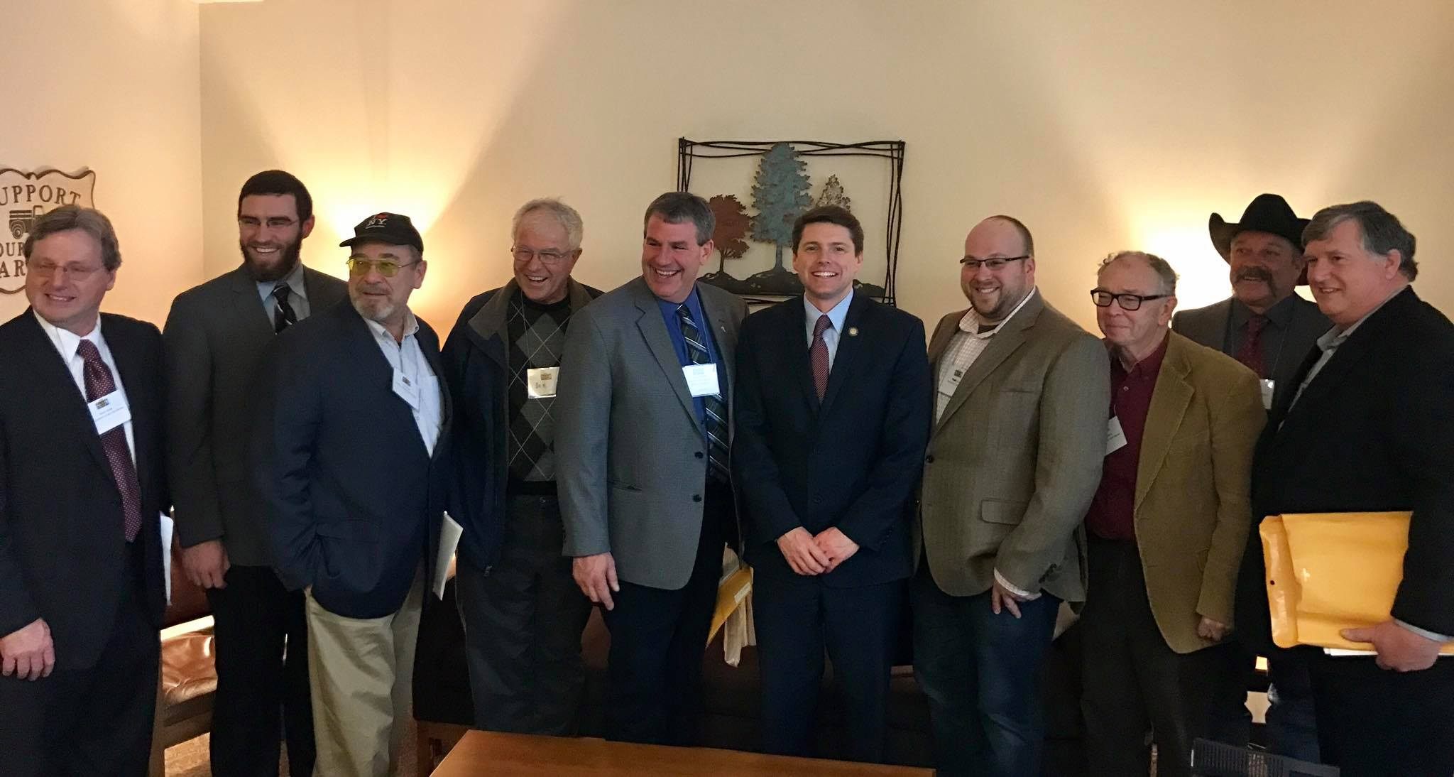In March 2017, Assemblyman Jones met with local Farm Bureau members to learn about agricultural issues in the North Country. The state budget restores many important programs that provide vital support for local farms.<br />