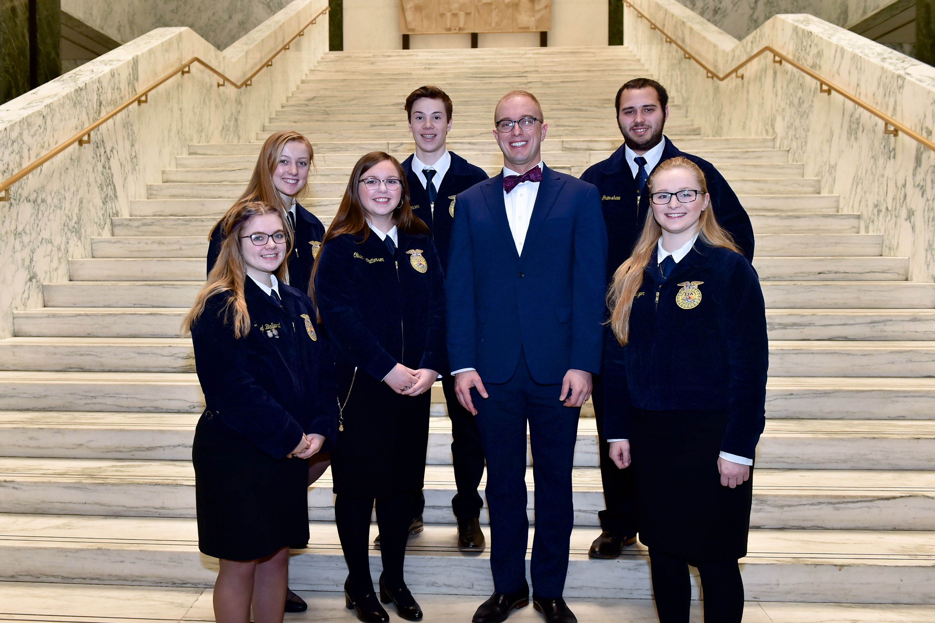Assemblyman Mark Walczyk (R,C,I,Ref-Watertown) recently met with the next generation of leaders in the Front Yard of America.