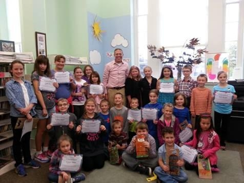 Assemblyman Barclay recently held his 2014 Summer Reading Challenge party at the Oswego Public Library.