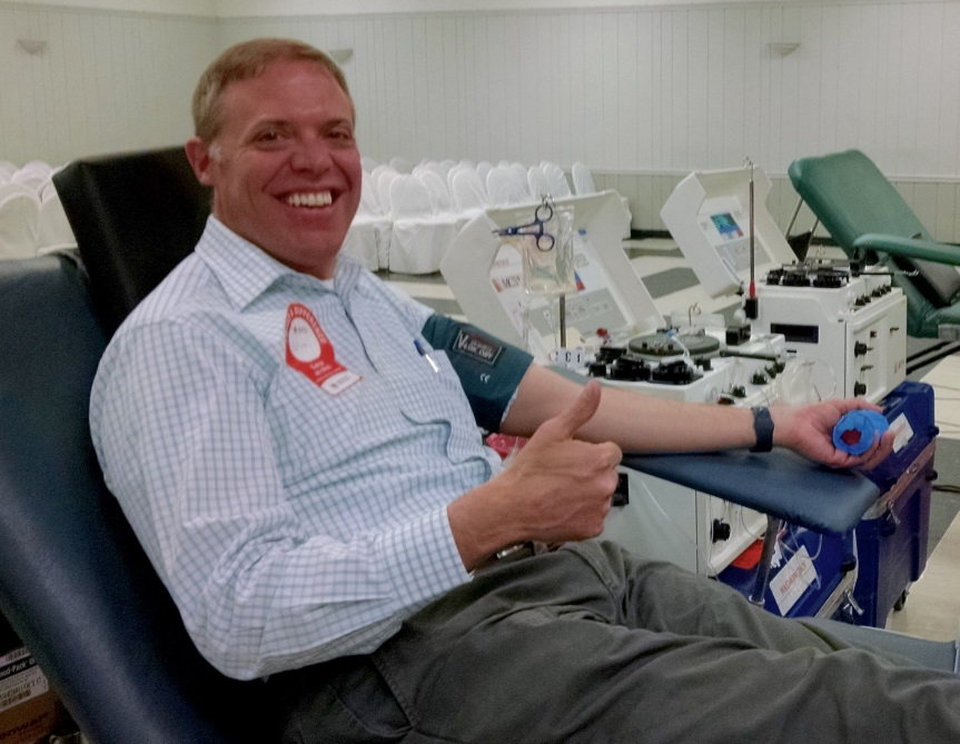 Assemblyman Will Barclay (R,C,I, Ref-Pulaski) will host his annual blood drive on Friday May 12 from 10 a.m. to 3 p.m. at the Oswego Elks Lodge at 132 W. 5th St., Oswego.