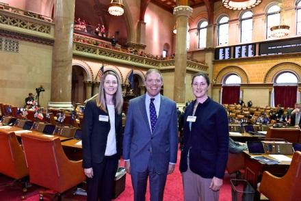Assemblyman Will Barclay (R,C,I,Ref-Pulaski) recently met with students from LEAD New York, a leadership development program for adult professionals in the food, agriculture, and natural resource industries. <br />