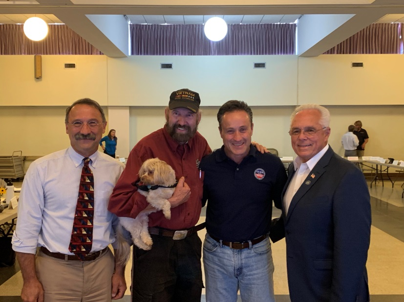 Assemblyman John Salka (R,C,Ref-Brookfield) at the EPA forum on agriculture with Assemblyman Clifford W. Crouch (R-Bainbrdige) and EPA Administrator Peter Lopez on Thursday, September 05.