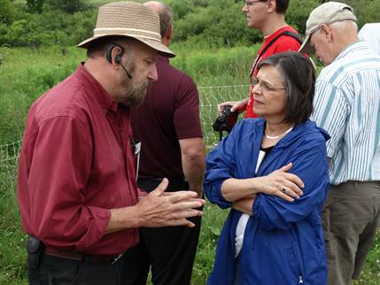 July 15, 2014: Assemblywoman Lupardo attends the annual Chenango County Farm Tour to learn more about local agriculture and obstacles faced by farmers.