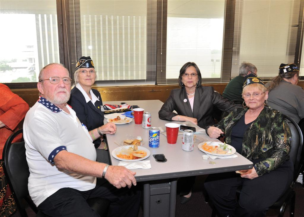 June 11, 2014: Assemblywoman Lupardo meets with women veterans in Albany.