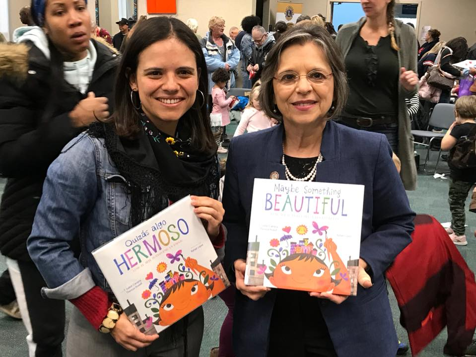 October 25, 2018 – Assemblywoman Lupardo participates in Read for the Record, a literacy event that aims to break the world record for most people reading the same book at the same time.