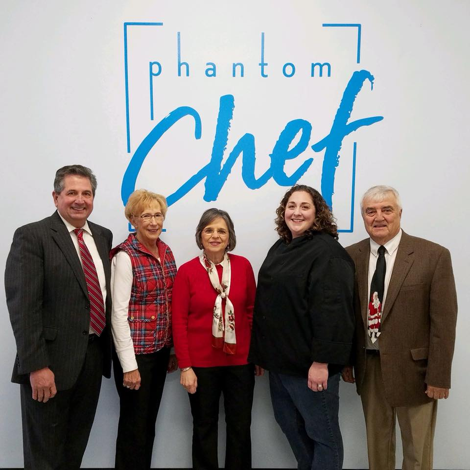 November 27, 2018 – Assemblywoman Lupardo with Michelle McIlroy, owner of Phantom Chef in Endicott, and organizers of Holiday Magic on the Avenue at a news conference promoting the annual communi