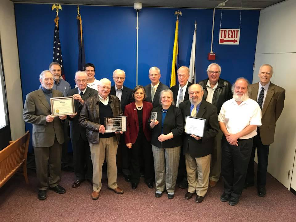 January 17, 2019 – County Executive Jason Garnar and Assemblywoman Lupardo recognize TechWorks! for winning the 2018 Tony Sale Award, the world's premier computer conservation award.