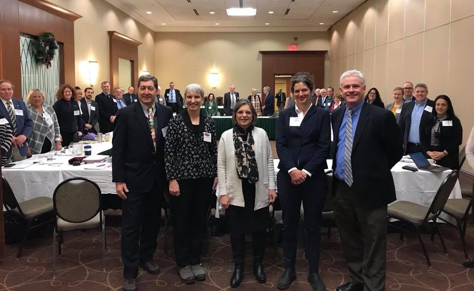 January 11, 2019 – Assemblywoman Lupardo, Chair of the Assembly Agriculture Committee, attends the Council of Agricultural Organizations conference.