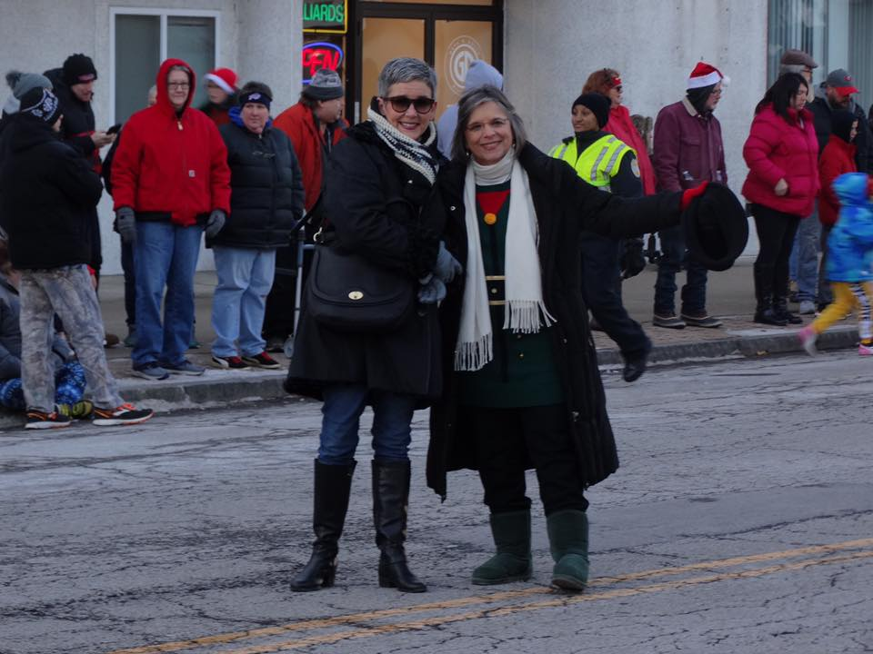 December 7, 2019 – Assemblywoman Lupardo and Endicott Trustee Eileen Konecny march in the annual Endicott Holiday Parade. This year was the 80th anniversary of the parade.