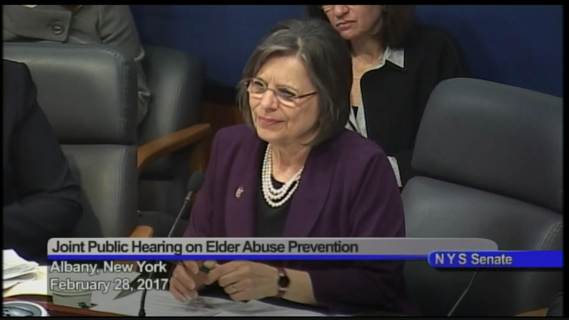 Assessing Elder Abuse Prevention Efforts