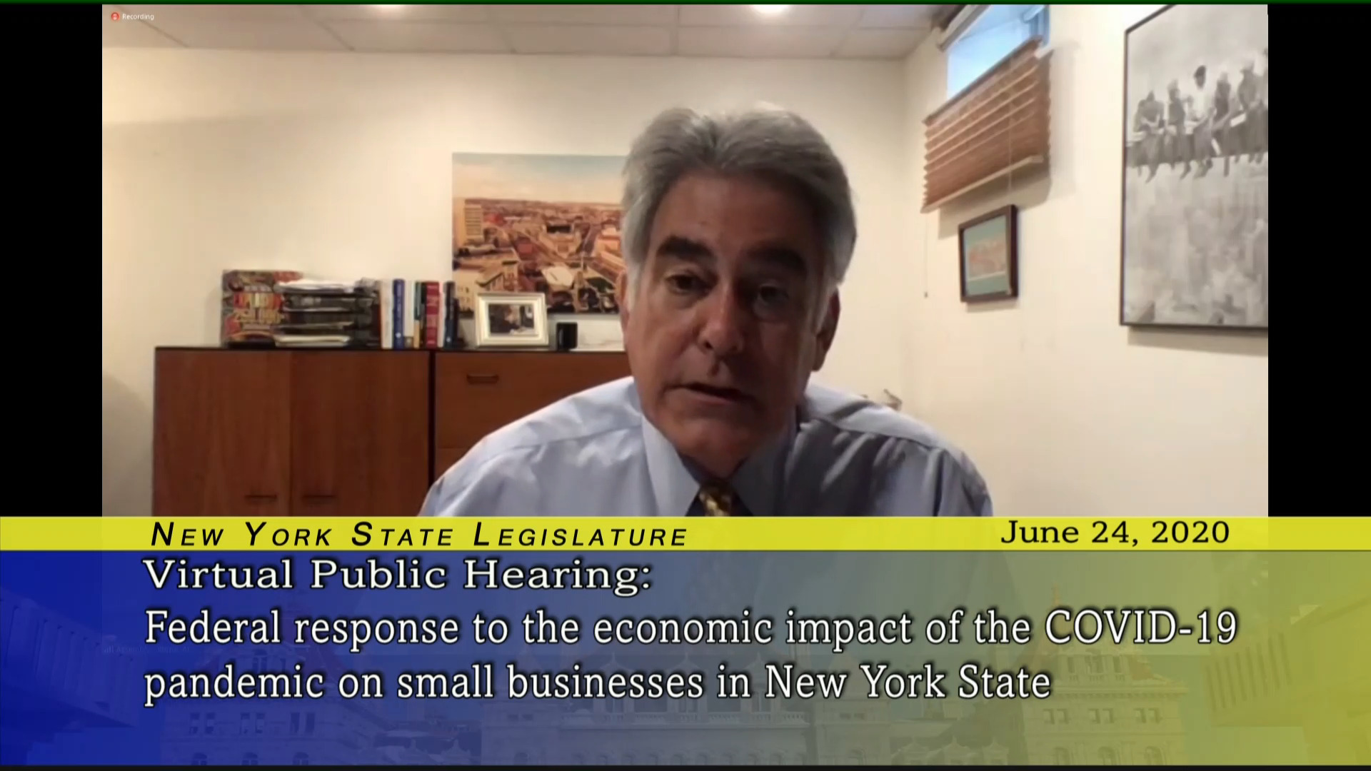 Public Hearing on Federal Response to COVID-19 Impact on NYC Small Business