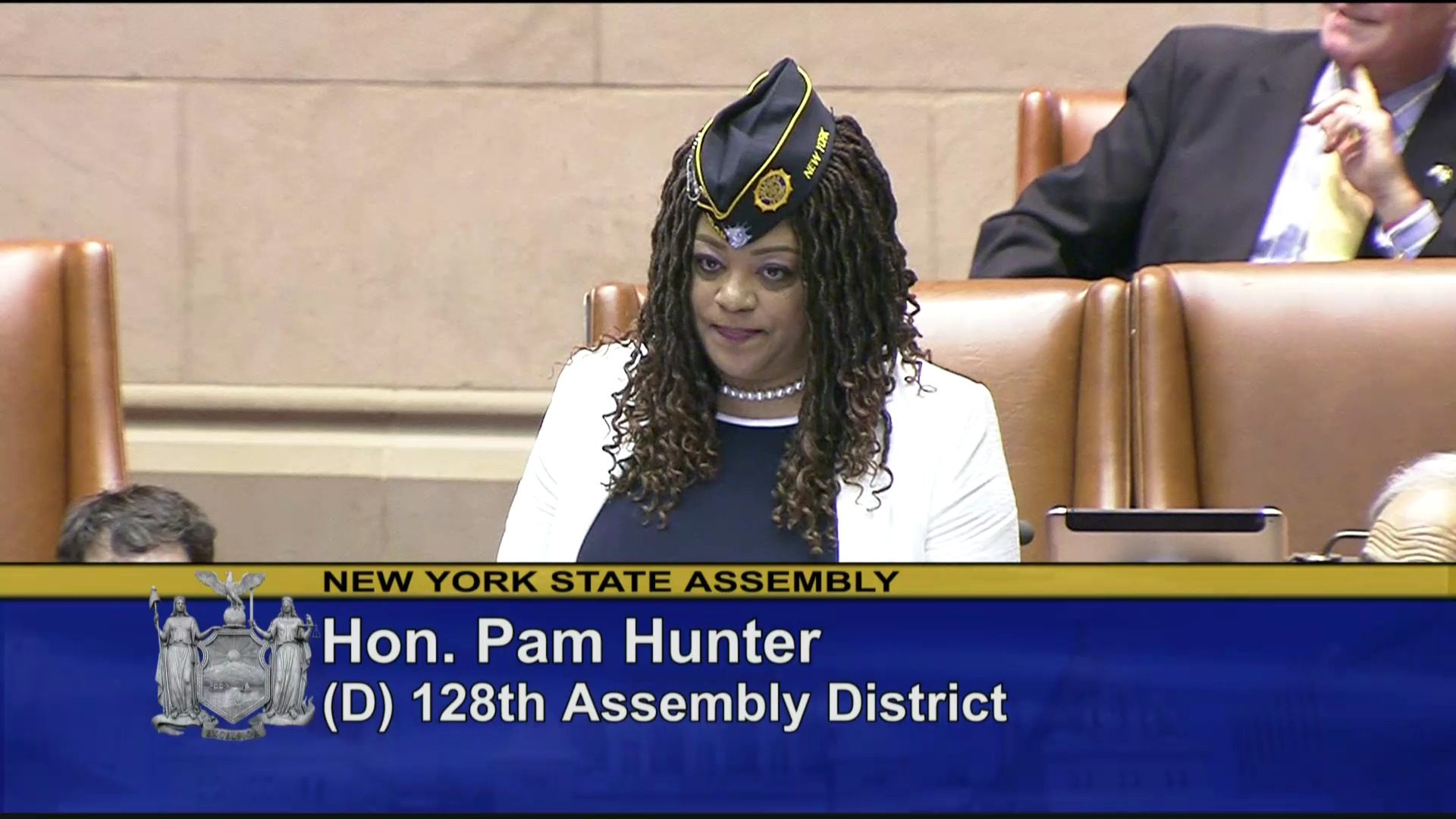 Assemblymember Hunter Recognizes Women Veterans