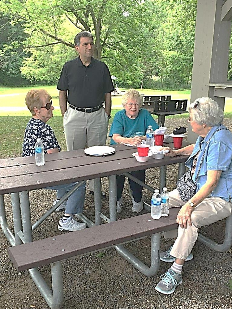 Assemblyman Magnarelli attended the Central New York Retired Public Employees picnic at Longbranch Park.