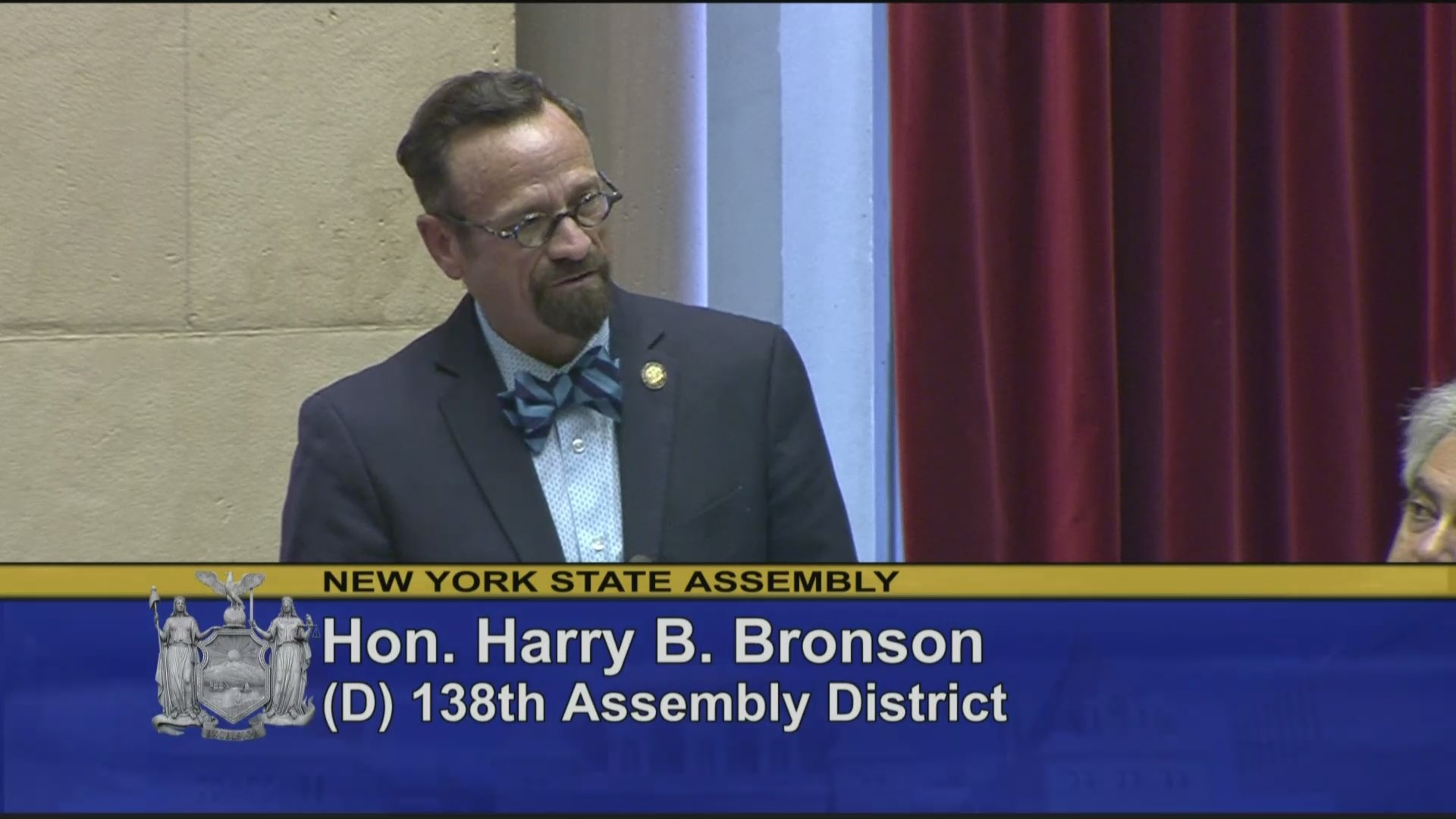 Assemblyman Bronson Honors Deceased Former Members