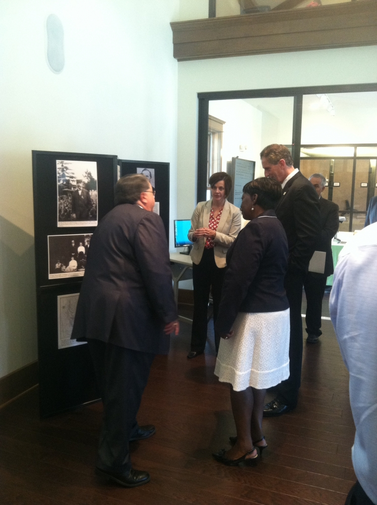September 4th 2014 – Assemblywoman Crystal Peoples-Stokes attends a tour of the Margaret L. Wendt Archive and Resource Center.