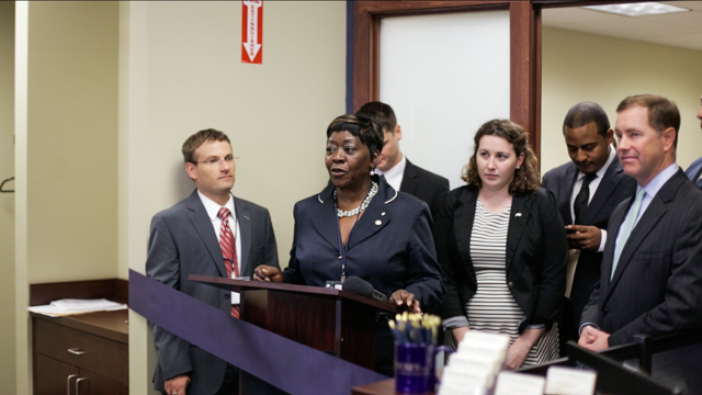 August 21st 2014 – Assemblywoman Crystal Peoples-Stokes attended the ribbon cutting for Tully Rinckey PLLC, opening the newest law office in Buffalo.