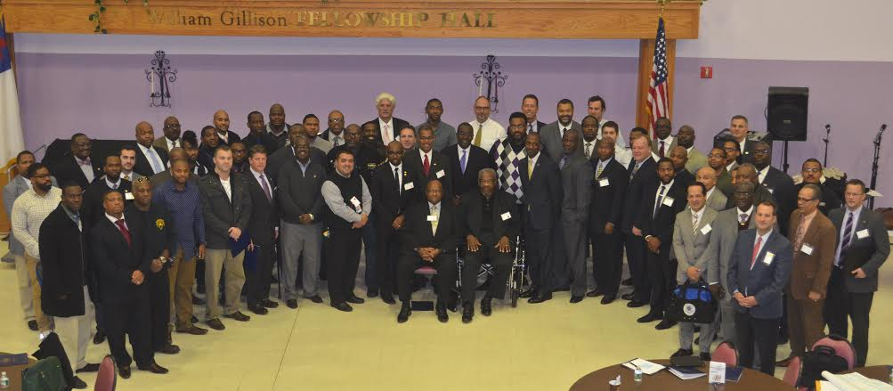 "November 10, 2014 – Assemblywoman Crystal Peoples-Stokes supporting the roundtable discussion on President Obama's ""My Brother's Keeper"" initiative."