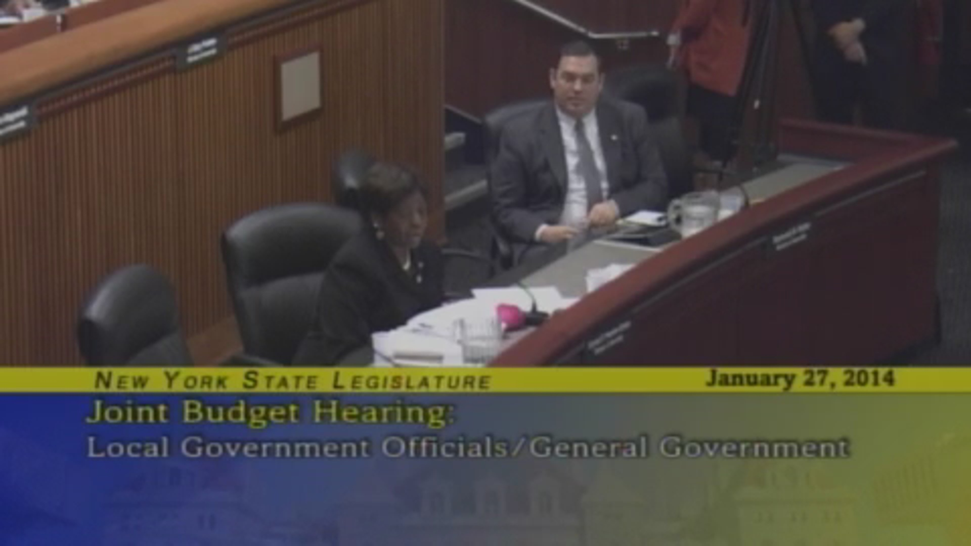Local Government Budget Hearing