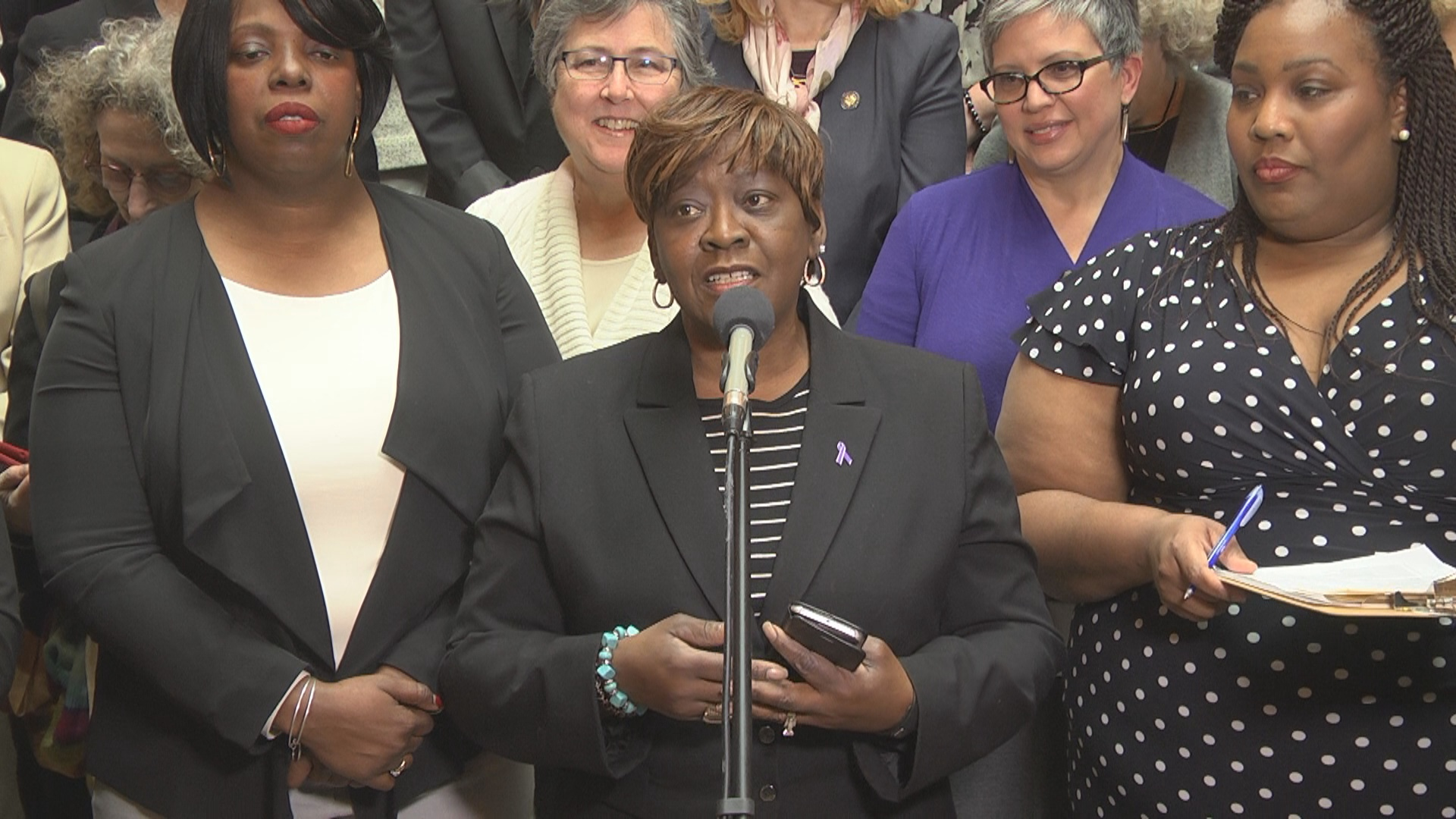 Women's Voting Rights Press Conference