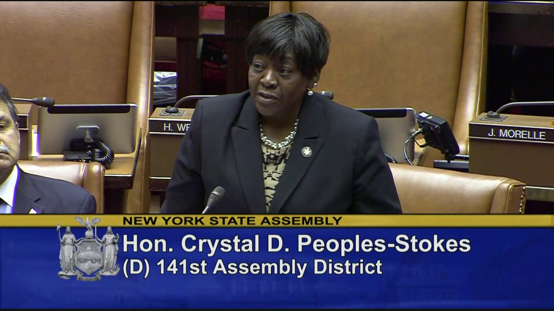 Assemblymember Peoples-Stokes on the MLK Resolution