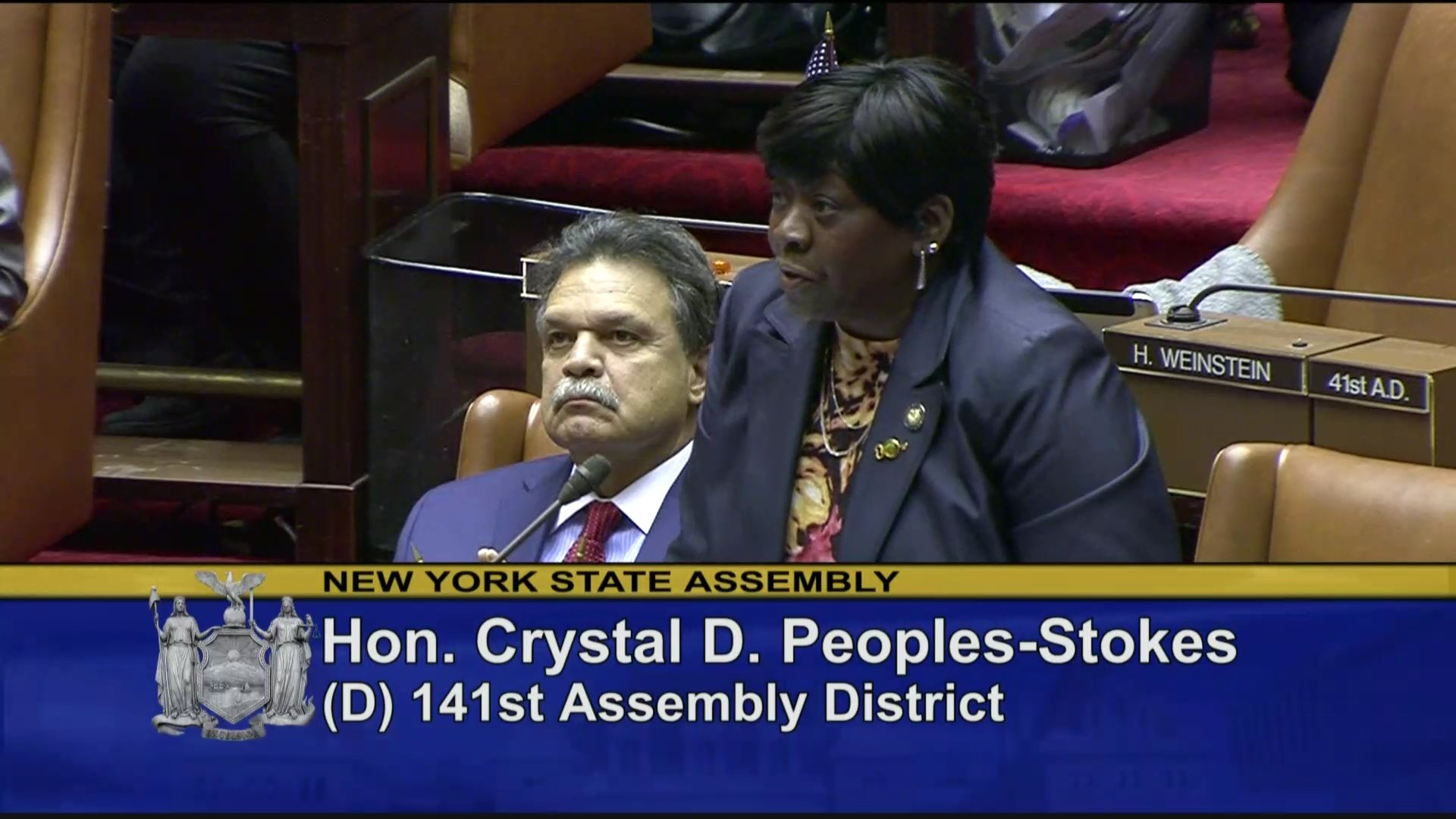 Assemblymember Peoples-Stokes Speaks on the Dream Act