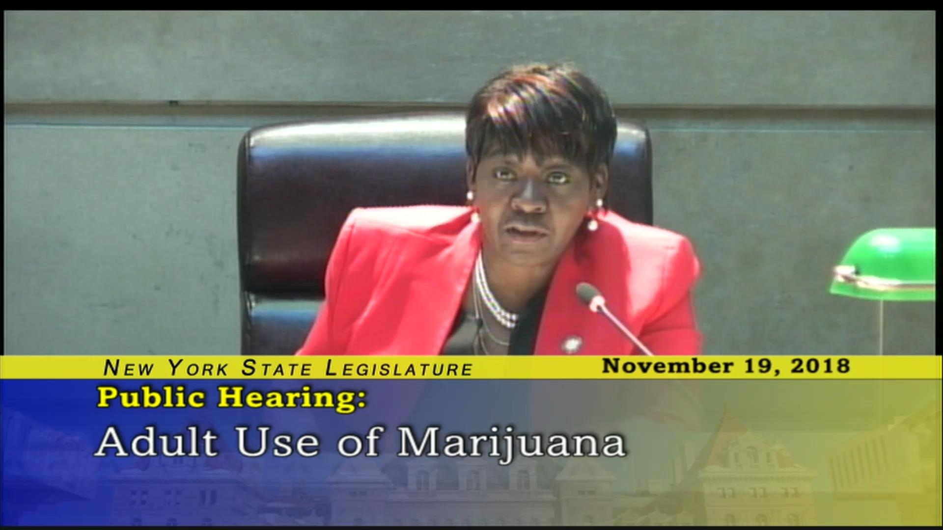 Peoples-Stokes Fights to Legalize Marijuana Use