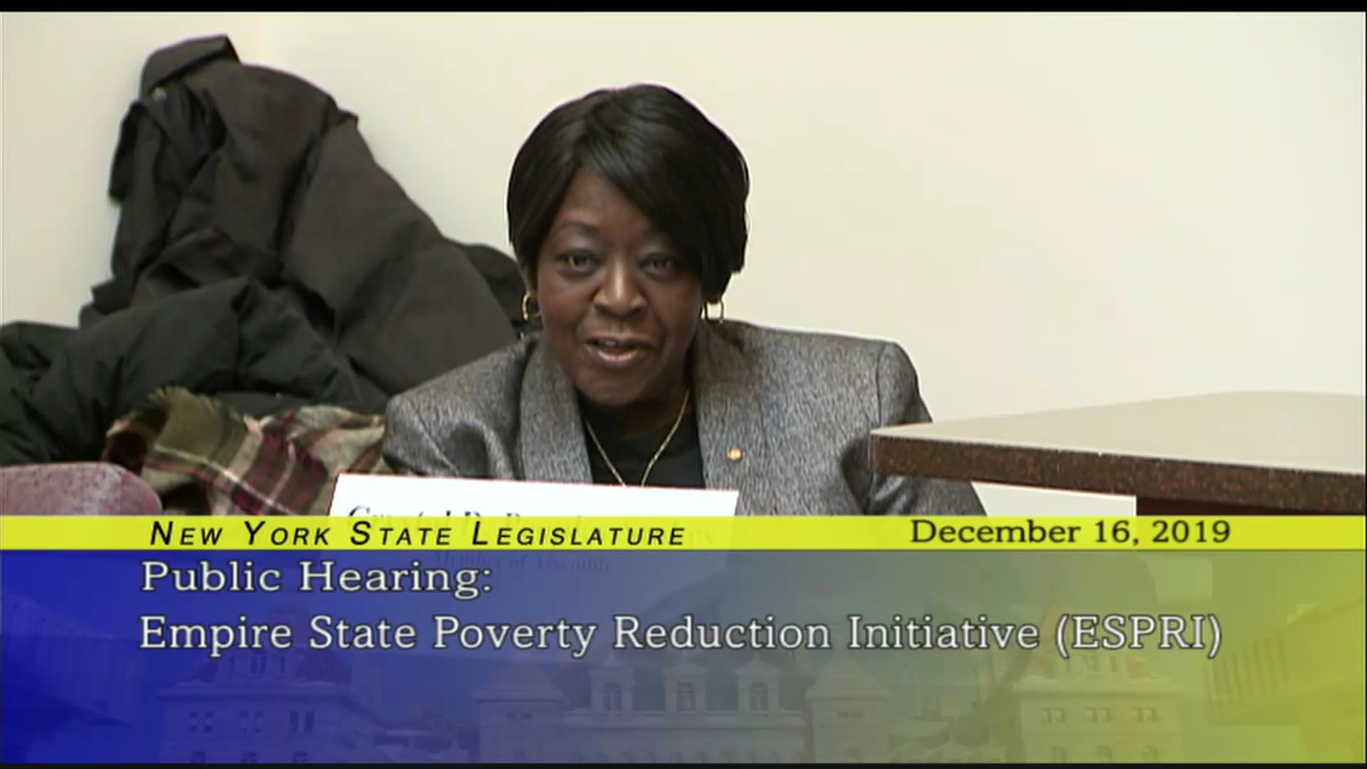 Public Hearing on the Empire State Poverty Reduction Initiative (1)