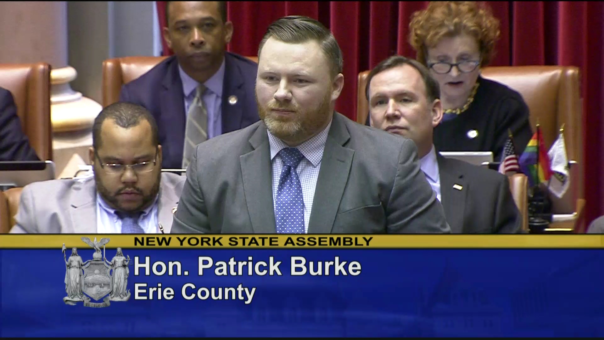 Burke Fights to End Conversion Therapy