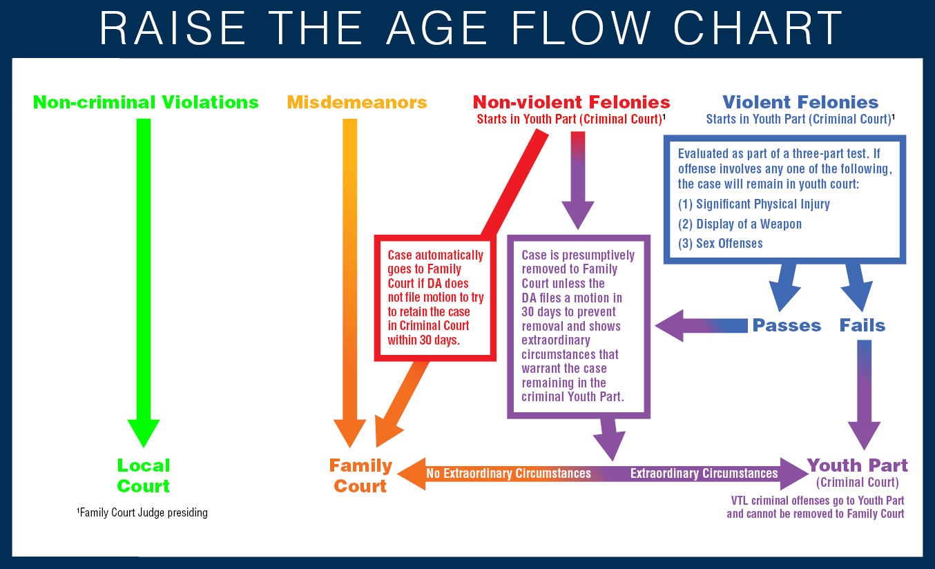 Raise the age Flow Chart