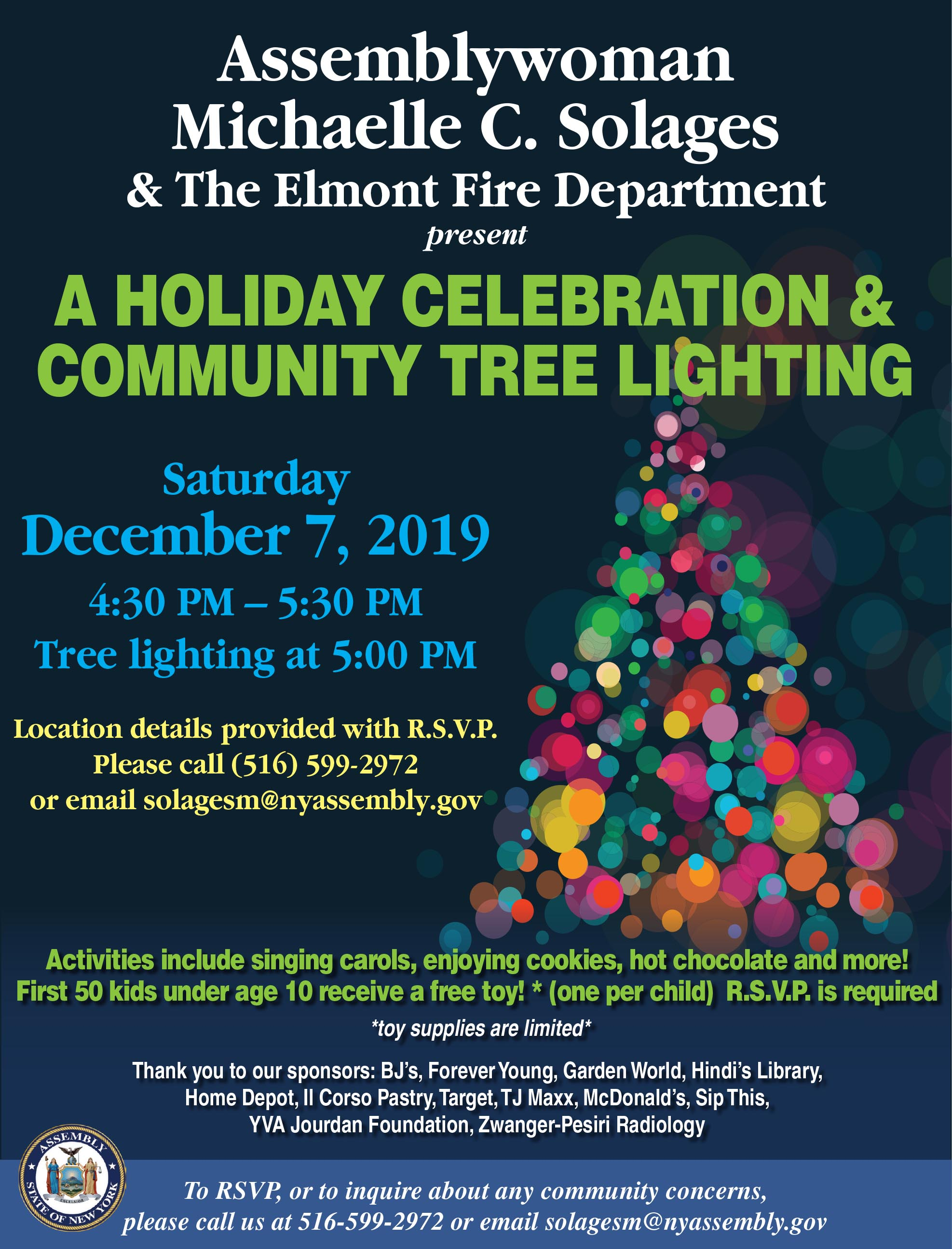 A Holiday Celebration & Community Tree Lighting