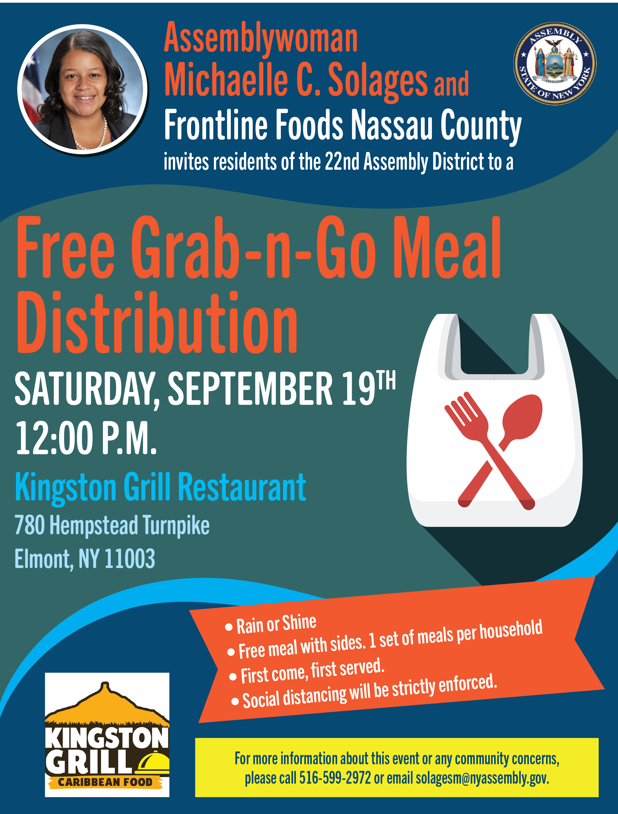 Grab-n-Go Meal Distribution