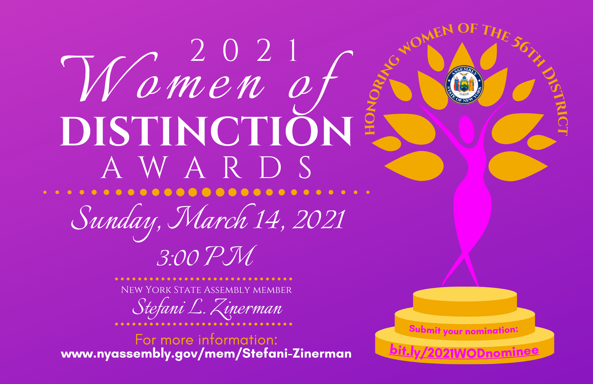 2021 Women of Distinction Awards